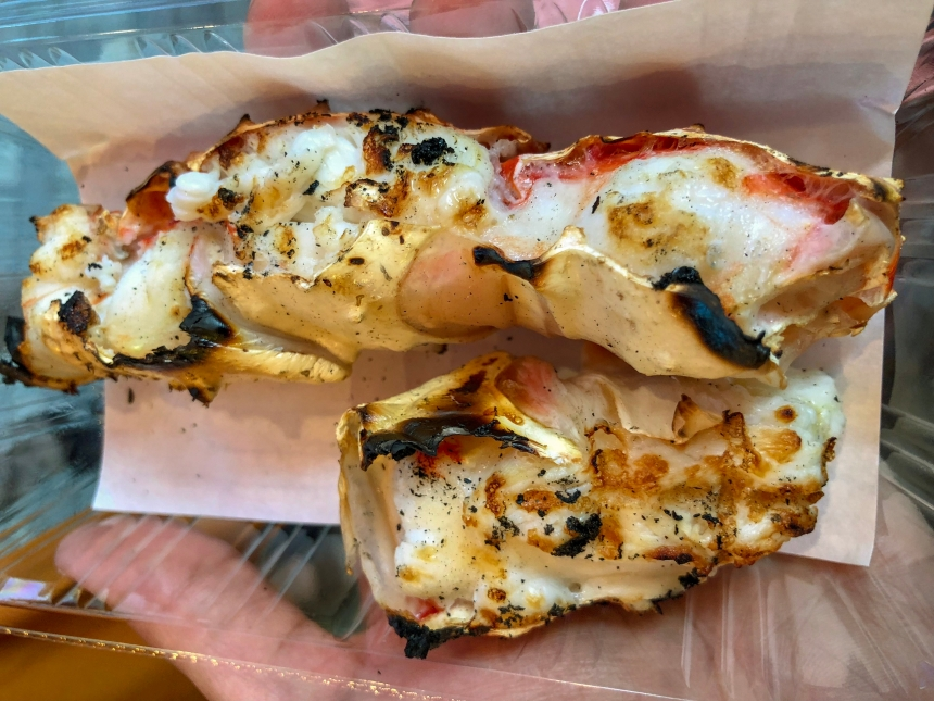 Grilled Crab